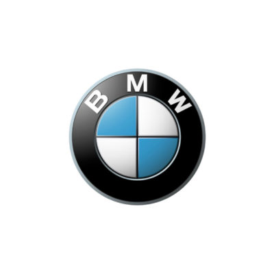 Logo of the car company BMW